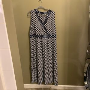 Land's End Maxi Dress Size 2x